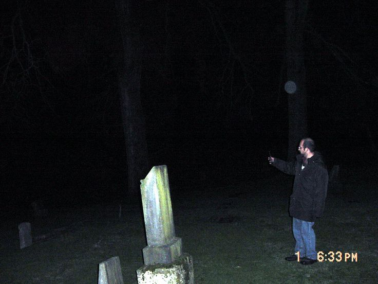 "orbs | ... caught in the flash looks more like the ""orbs"" in the photos below"