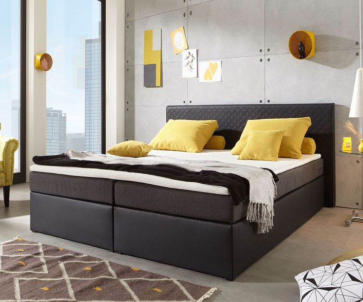 31 best images about boxspringbetten mehr z rtlichkeit. Black Bedroom Furniture Sets. Home Design Ideas