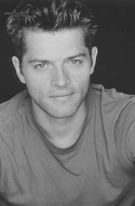young Misha Collins-- (I remember turning on the TV once... a repeat of Charmed was on. This young man is in the episode and I'm like WTF is that? Then I smacked myself on the forehead...)