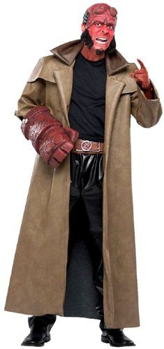 Deluxe Adult Hellboy Costume http://www.rewards4life.info/mens-superhero-costumes/category/mens-superhero-costumes/hell-boy-costumes/