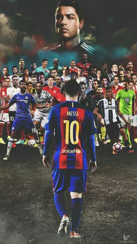 Messi Still The Best Authority Of One All Freeze Form A Wall