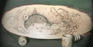 Image result for pyrography design