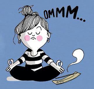Ommmm... estar un ratito con uno mismo y aprender a conocerse mejor #meditar #humor #imagenesdivertidas