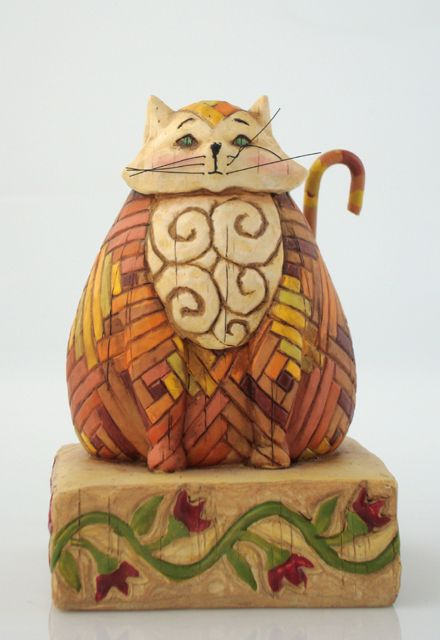 Jim Shore's cat - we have this one!
