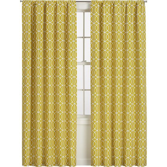 citrine curtains