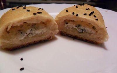 PEYNİRLİ POĞAÇA - bułeczki z białym serem