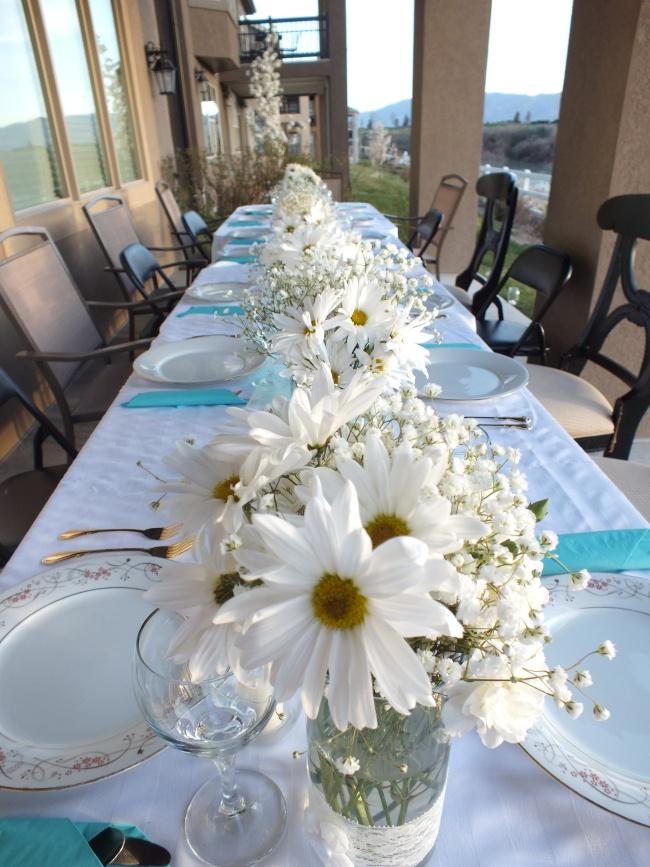 Prom Dinner Formal Outdoor Party Fl Arrangement