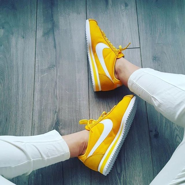 Femme Nike Cortez Gris/Violet