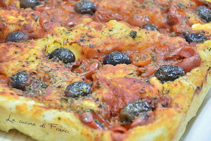 Focaccia pomodori olive origano 2