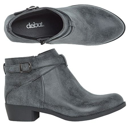 Debut Niko Ankle Boots - Boots - Women - Shoes - The Warehouse