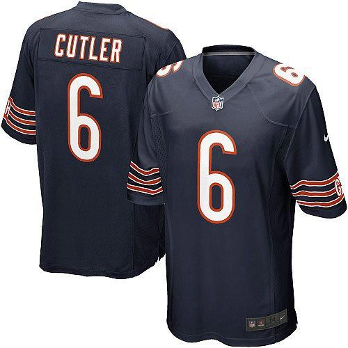 New Nike Chicago Bears #6 Jay Cutler White Game Jersey RUGVC109218983564698