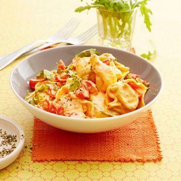 Tomaten-Sahne-Tortellini Rezept | Küchengötter
