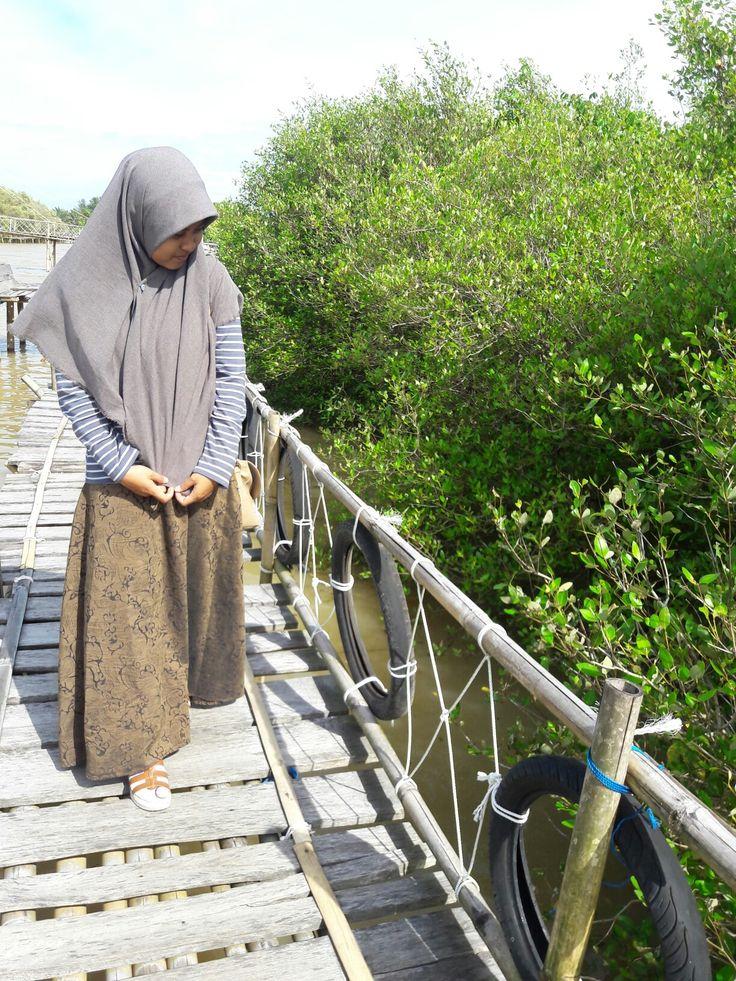 The Mangrove Forest in Kulon Progo Yogyakarta Have fun ;)