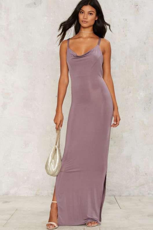 Glamorous Crossback It Up Maxi Dress