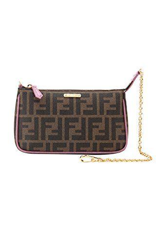 Fendi Clutch Bag. Fendi Woman's Brown Zucca Handbag Clutch.  #fendi #clutch #bag #fendiclutch #clutchbag