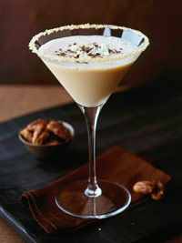 Vanilla Vodka Creamtini - 1 cup chilled vanilla vodka, 1/2 cup irish cream liquor, 1 tbs orange juice.  4 - 6 servings