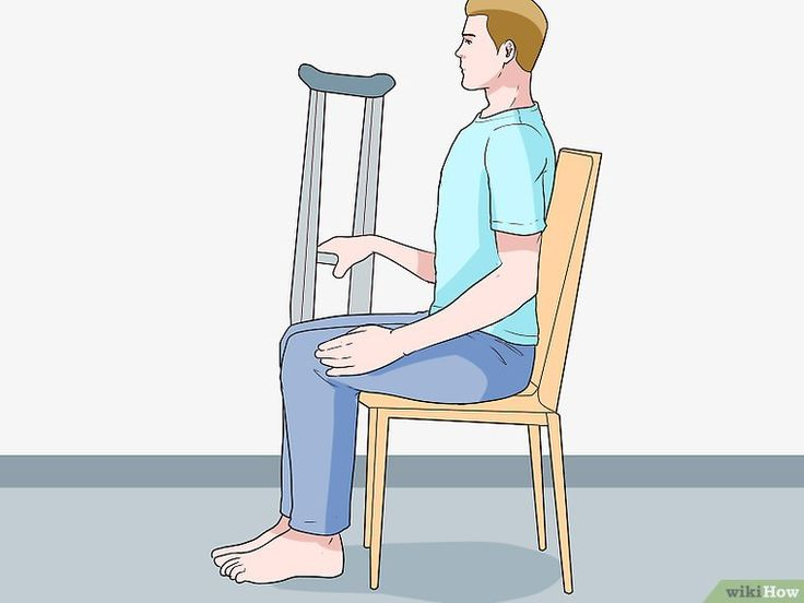 how to make crutches easier