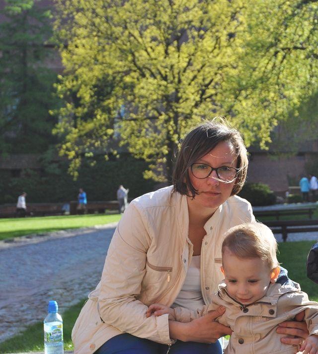 Pani Matka z dzieckiem