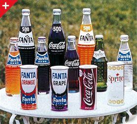 日本コカ・コーラ | 製品の歴史 | ファンタの歴史