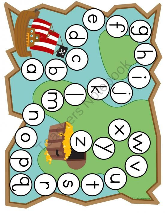Early Learning Pirate Themed Games & Activities from Selma Dawani Educational Therapy on TeachersNotebook.com (14 pages)  - This is a great FREEBIE! Letter names, letter sounds, matching, colors, color words, counting to 10, one to one correspondence, 1 to 10 treasure chest puzzle, addition, number line, all in this great pack for your preschooler or kindergartner. Please foll