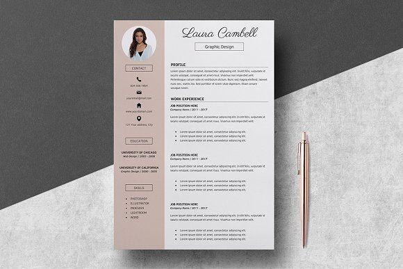 Resume Template/CV by LucaTheme on @creativemarket