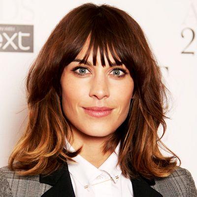 alexa chung brunette hair colour - Google Search