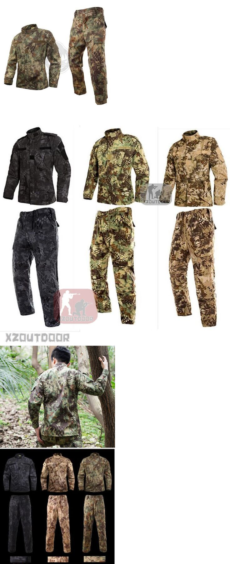 Tactical Clothing 177896: 2017 Mandrake Military Bdu Tactical Uniform Shirt Pants Kryptek Hunting Airsoft -> BUY IT NOW ONLY: $30 on eBay!
