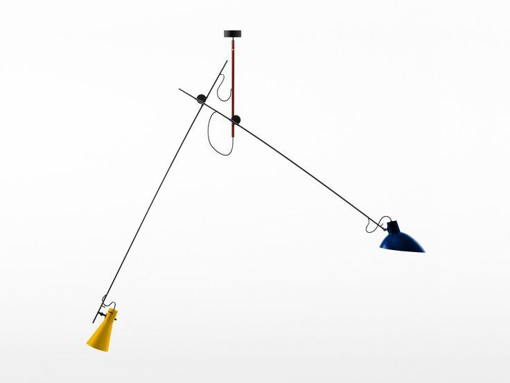 VV Cinquanta Suspension Light by Astep, Mondrian Version