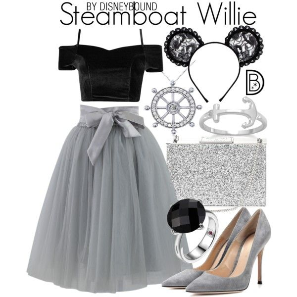 Disney Bound - Steamboat Willie