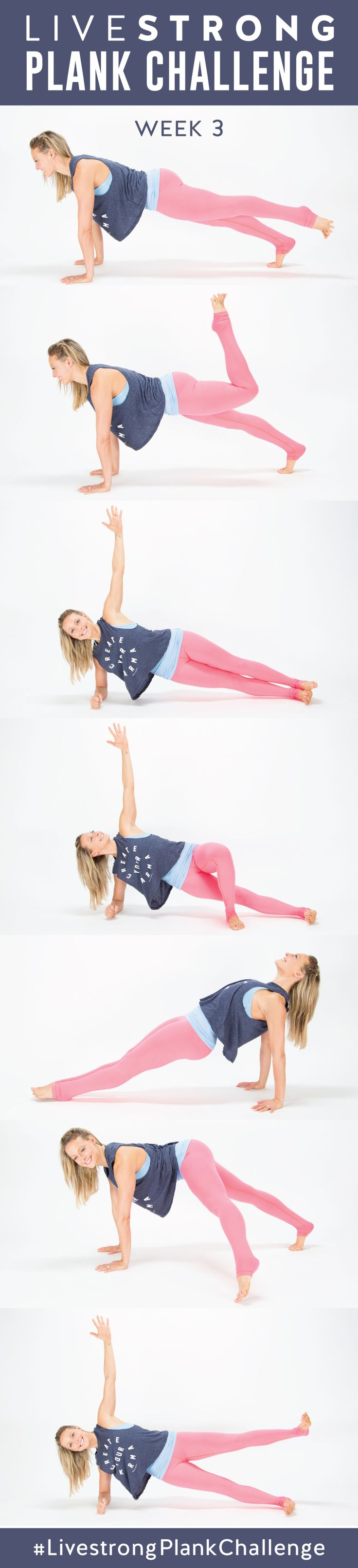 282 best images about fitness one sheets on pinterest for Plank muscles worked diagram