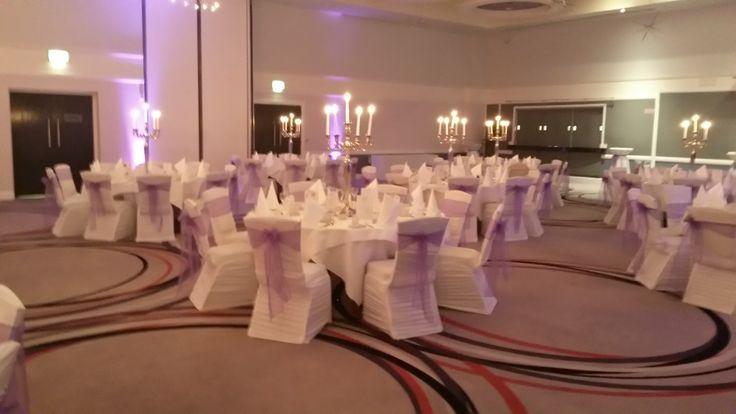 Candelabras lit and ready to go! #Weddings http://www.carltonhotelblanchardstown.com/weddings