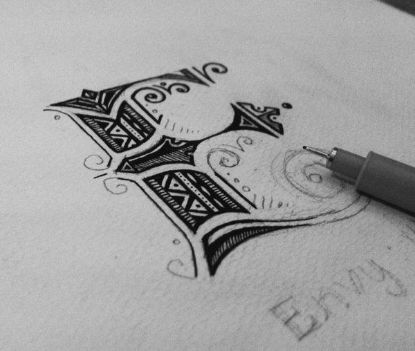 .E Typography