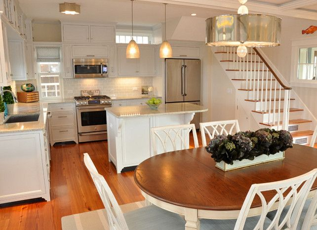 Dream Beach Cottage with Neutral Coastal Decor...This look scaled down a little would be a lovely small home look.