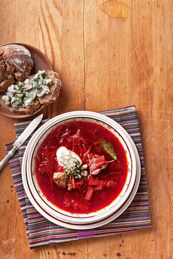 Борщ украинский - фото рецепт
