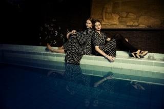 """Ruusuvuori"" printed Ivana Helsinki dresses"