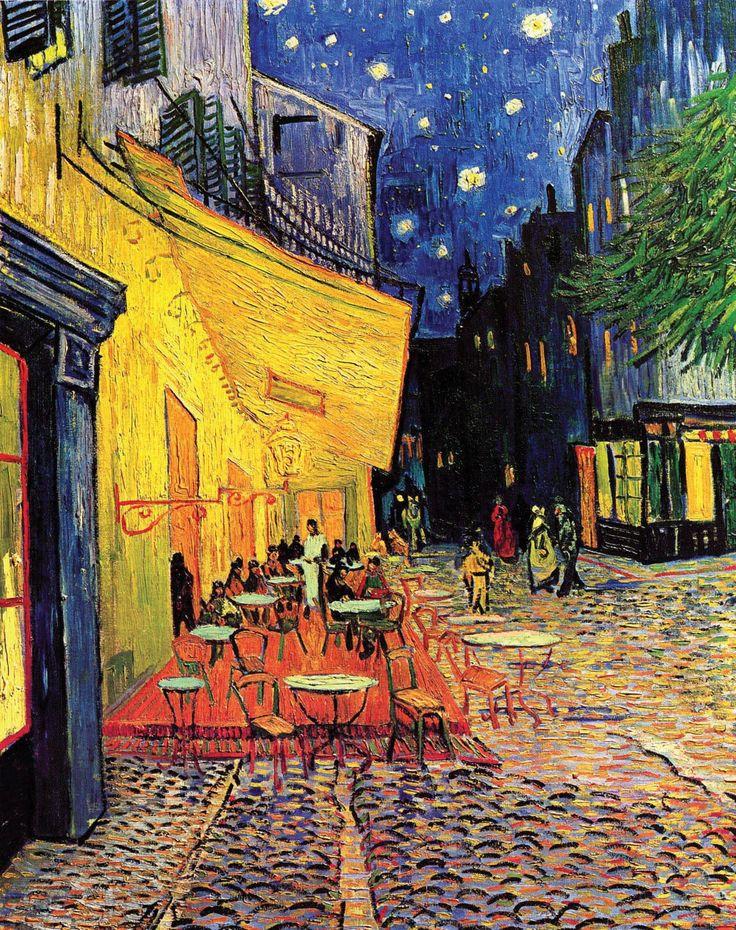 Terraço do Café à Noite, Van Gogh, 1888