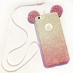 Kompatibilitás+iPhone+8+iPhone+8+Plus+iPhone+5+tok+tokok+Minta+Hátlap+Case+3D+figura+Puha+Hőre+lágyuló+poliuretán+mert+iPhone+8+Plus+–+EUR+€+6.22