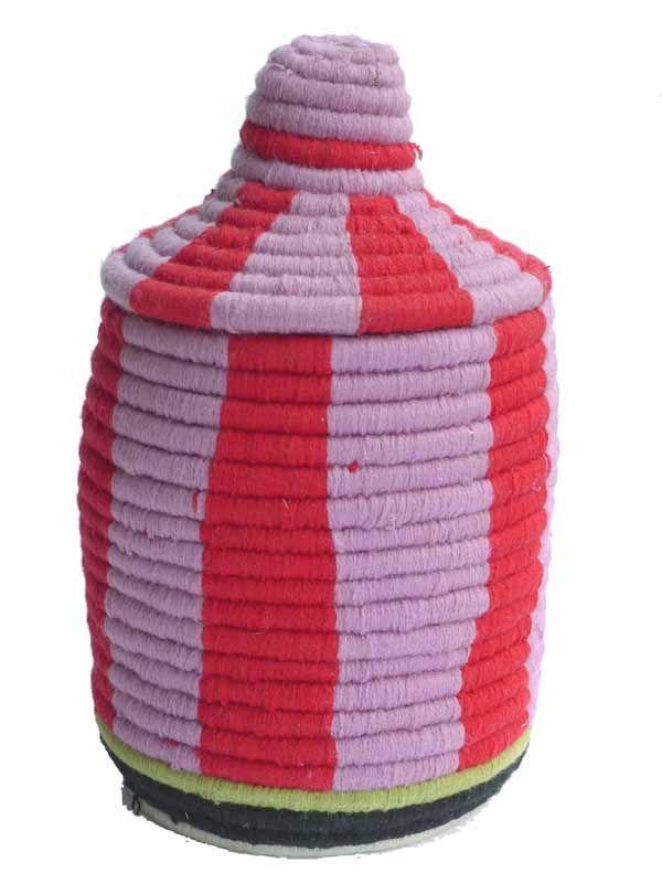 Handmade one-of-a-kind Berber basket from kira-cph.com