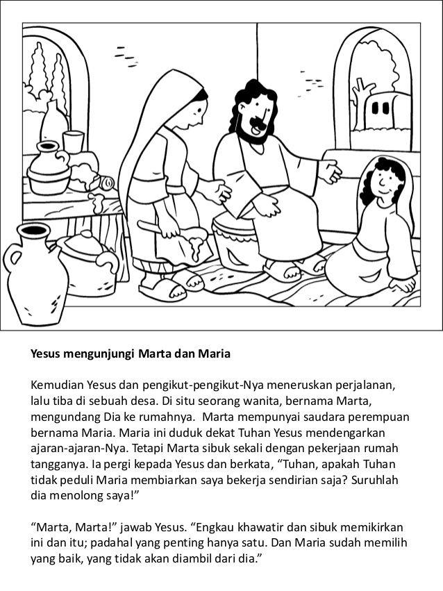 Kehidupan Yesus Anak Buku Mewarnai 18 Gambar Dokter Wanita Kimi