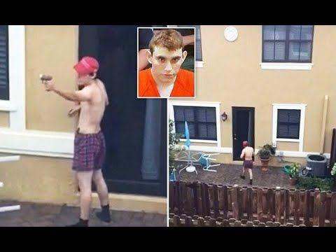 Video school shooter Nikolas Cruz backyard target practice - YouTube