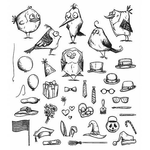 TIM HOLTZ: Mini Bird Crazy & Things