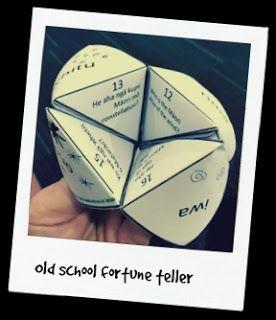 Matariki 2016 - free fortune teller printable!