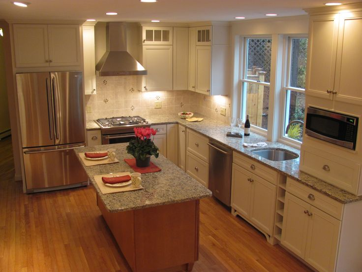 17 best images about customer projects on pinterest for Merillat white kitchen cabinets