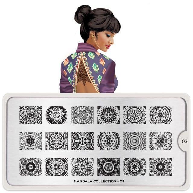 Mandala Nail Art Design 03