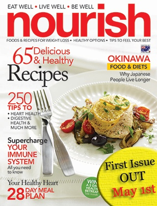New magazine Nourish to focus on healthy eating for busy professional women
