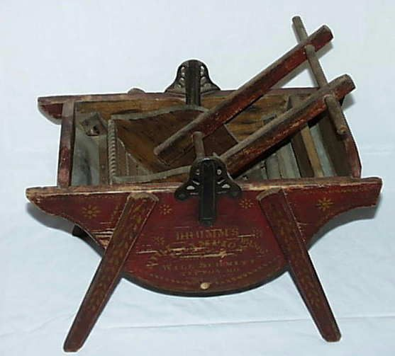 #Antique Patent Model Washing Machine