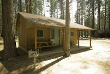 "In the spirit of the ""camping"" idea...  South Lake Tahoe Cabin Rates & Information - Camp Richardson Historic Resort & Marina"