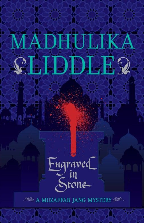 Madhulika Liddle » Engraved in Stone The third book in the Muzaffar Jang series, is set in the winter of 1656-57 CE. This novel finds Muzaffar in Agra. The Mughal armies, led by the ambitious Diwan-e-kul, Mir Jumla, are headed for a campaign in the Deccan—and Mir Jumla himself, briefly halting at the home of a wealthy merchant in Agra, summons Muzaffar when the merchant is killed. By whom? And what other long-forgotten secrets will Muzaffar unearth in the course of this investigation?