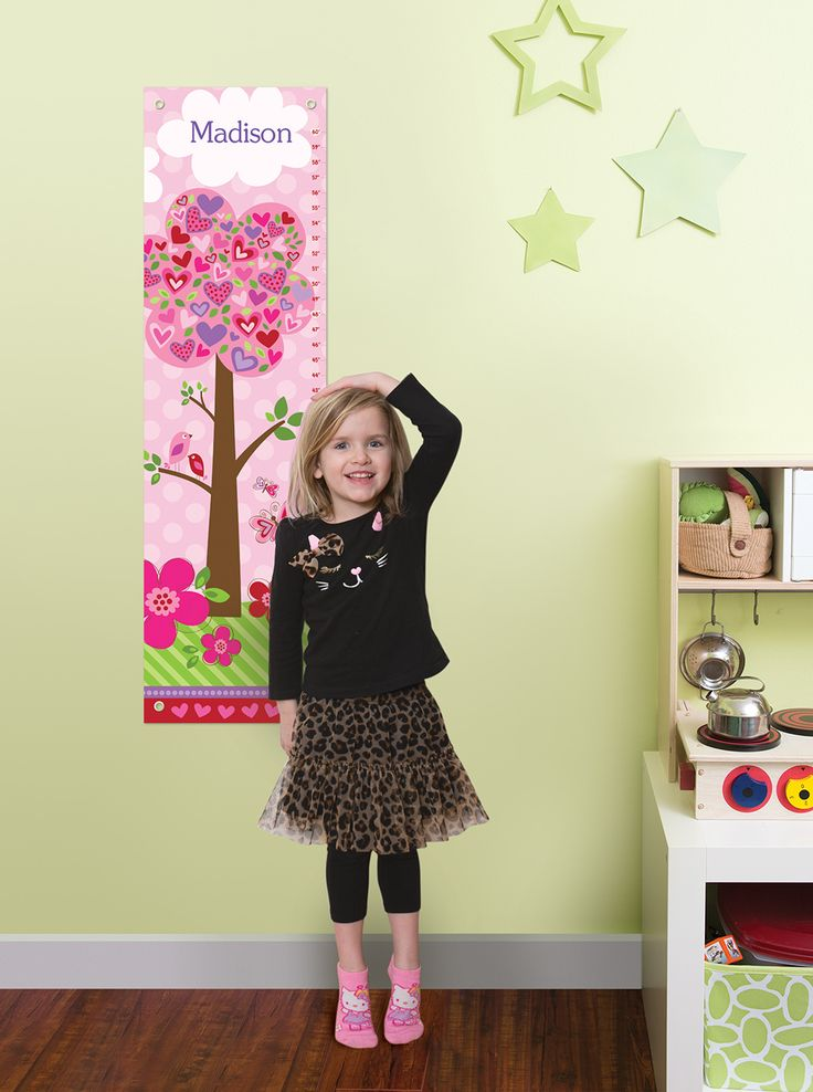 Enter to win a Personalized Growth Chart from I See Me! #giveaway #win: Colors Charts, Growing Charts, Height Charts, Charts Giveaways, Cute Ideas, Growth Charts, Development Charts, Rooms Ideas, Girls Personalized