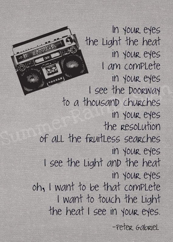in your eyes lyrics - Google Search